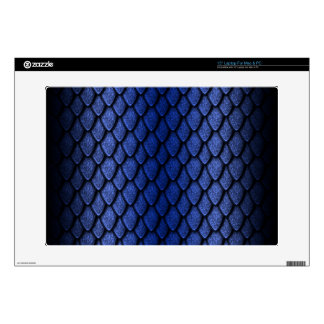 Blue Dragon Scales Laptop Skin