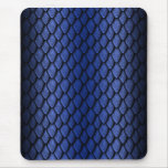 Blue Dragon Scales Mouse Pad