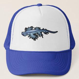Blue Dragon Sea Slug Nudibranch Trucker Hat