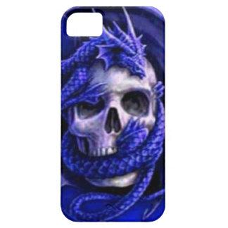 blue-dragon-skull iPhone SE/5/5s case