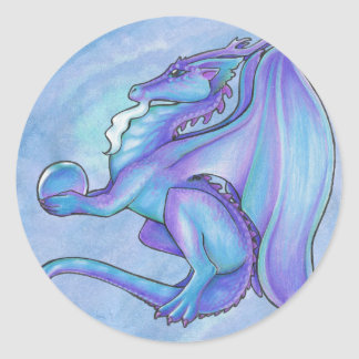 Blue Dragon Stickers