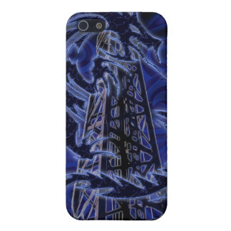 Blue dragon wrapping around derrick iPhone SE/5/5s case
