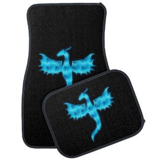 Blue Dragon Floor Mat