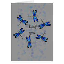 blue dragonflies II