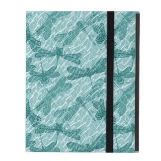 Blue Dragonflies iPad Folio Case