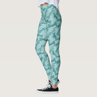 Blue Dragonflies Leggings