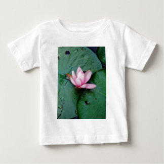 Blue Dragonflies on a pink lotus flower Infant T-shirt