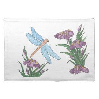 Blue Dragonflies Placemat
