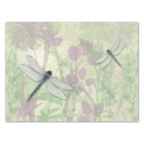 Blue Dragonflies Tissue Paper
