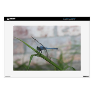 "Blue Dragonfly 15"" Laptop Decal"