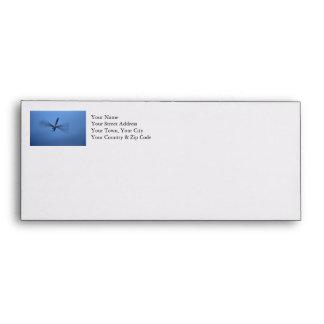 Blue Dragonfly in Flight Envelope