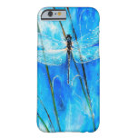Blue Dragonfly iPhone 6 Case