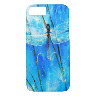 Blue Dragonfly iPhone 7 Case
