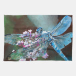 Blue Dragonfly Kitchen Towels
