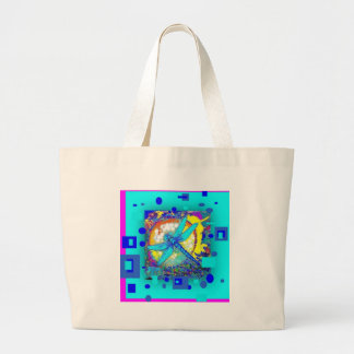 Blue Dragonfly Modern Design Gifts by Sharles Tote Bags