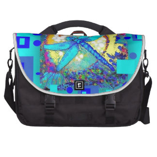 Blue Dragonfly Modern Design Gifts by Sharles Commuter Bag