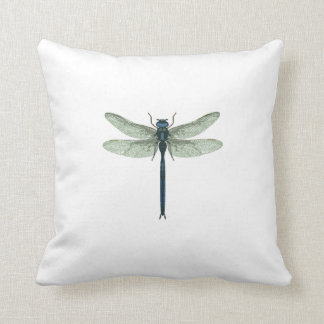 Blue Dragonfly Pillows