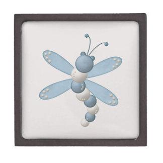 Blue Dragonfly Premium Keepsake Box