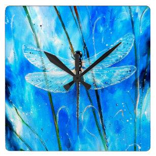 Dragonfly Wall Clocks Zazzle