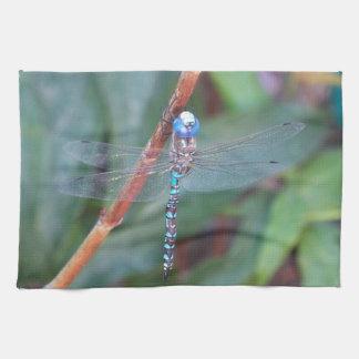 Blue Dragonfly Towel