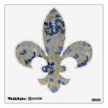 Blue Dragons, Flowers, and Butterflies Room Stickers