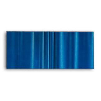 Blue drapes envelope