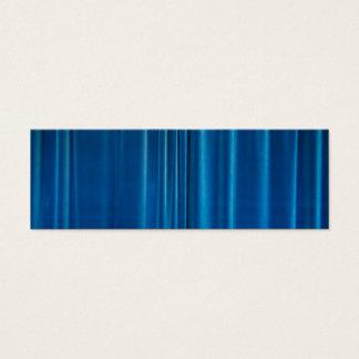 Blue drapes mini business card