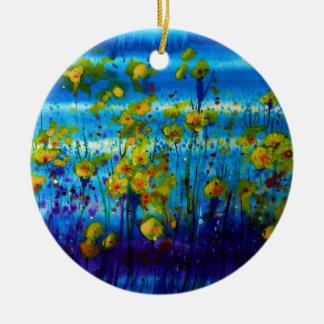 Blue Dream Ceramic Ornament