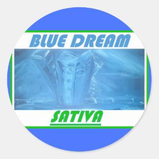 BLUE DREAM SATIVA STICKERS