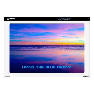 """Blue Dream Sunset Santa Monica Skin For 17"""" Laptop"""