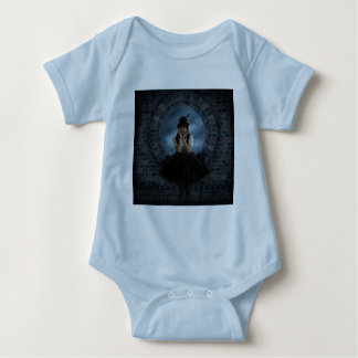 Blue Dreams Baby Bodysuit