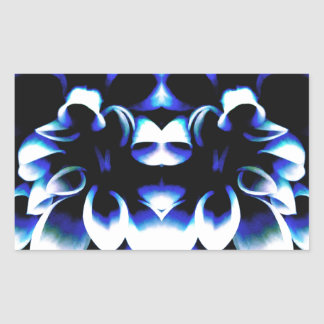 Blue Dreamz Rectangular Sticker