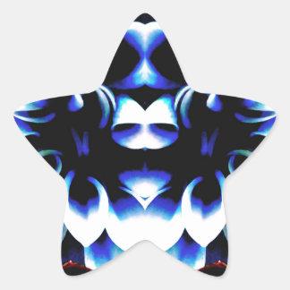 Blue Dreamz Star Sticker