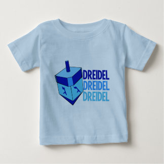 Blue Dreidel Hanukkah Toddler Baby T-Shirt