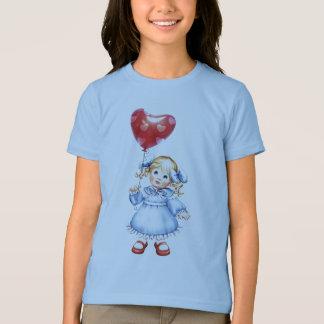 Blue Dressed Girl T-Shirt