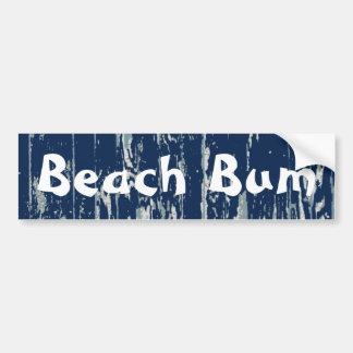 Blue Driftwood Car Bumper Sticker