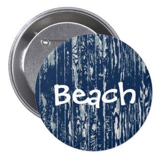 Blue Driftwood Button