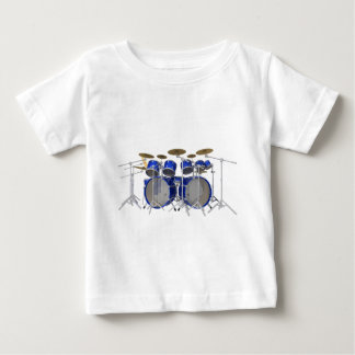 Blue Drum Kit: 10 Piece: Baby T-Shirt