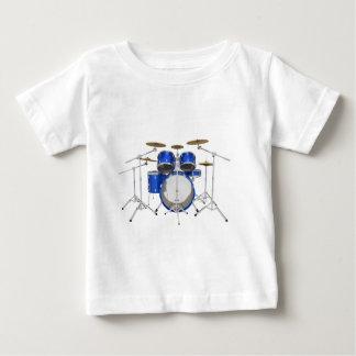 Blue Drum Kit: Baby T-Shirt