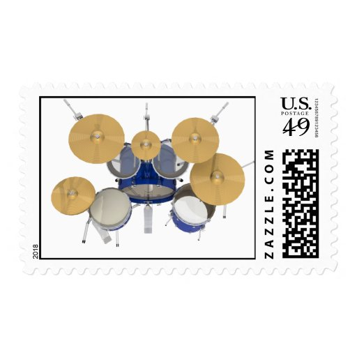 Blue Drum Kit: Postage