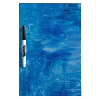 Blue Dry-Erase Board