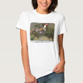 Blue Duckwing Australian Game Cockerel 9Y557D-006 T-Shirt