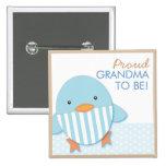 Blue Ducky Proud Grandma Pin