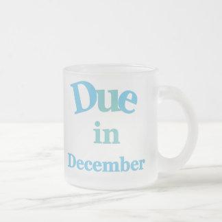 Blue Due in December Coffee Mug