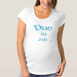 Blue Due in July Tshirts