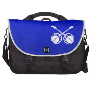 Blue Dueling Banjos Laptop Commuter Bag
