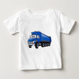 Blue Dump Truck 10w Cartoon Baby T-Shirt