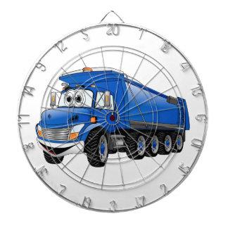 Blue Dump Truck 10w Cartoon Dart Board