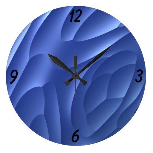 Blue Dune Wall Clocks