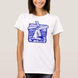 Blue Dutch Windmill T-Shirt